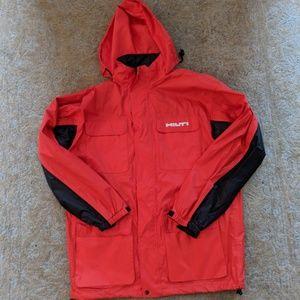 HILTI Jacket Rain Utility Tactical Hooded 2XLT